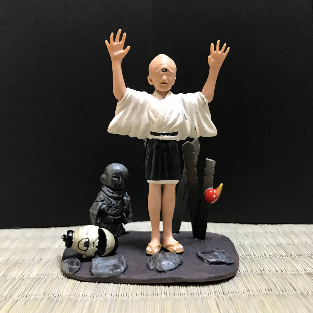 Hitotsume kozō the one eye kid monk from 100 yokai tales