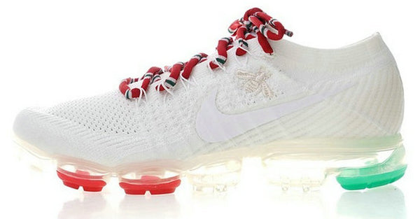 best sneakers 92728 69c41 Nike Air Vapormax FLYKNIT 2 Gucci White/Red/Black/Green Shoes