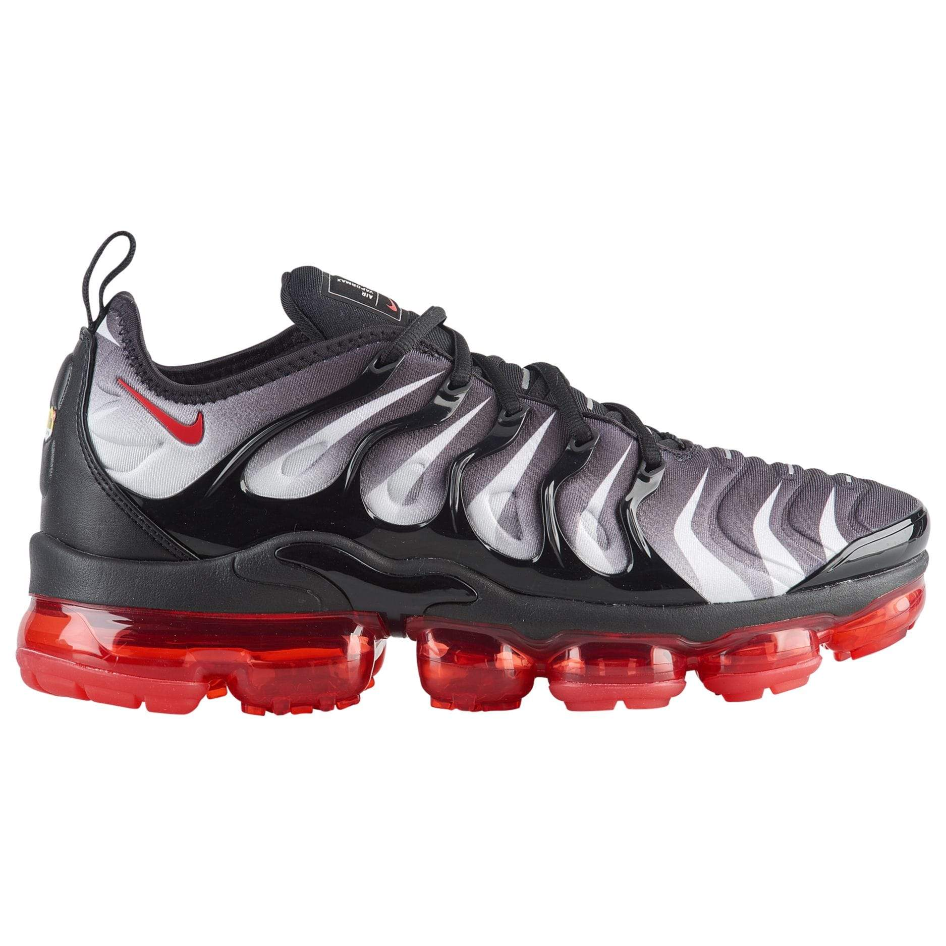 low priced 3a988 a9b0e Nike Air Vapormax Plus Black/Speed Red/White Men's Shoes