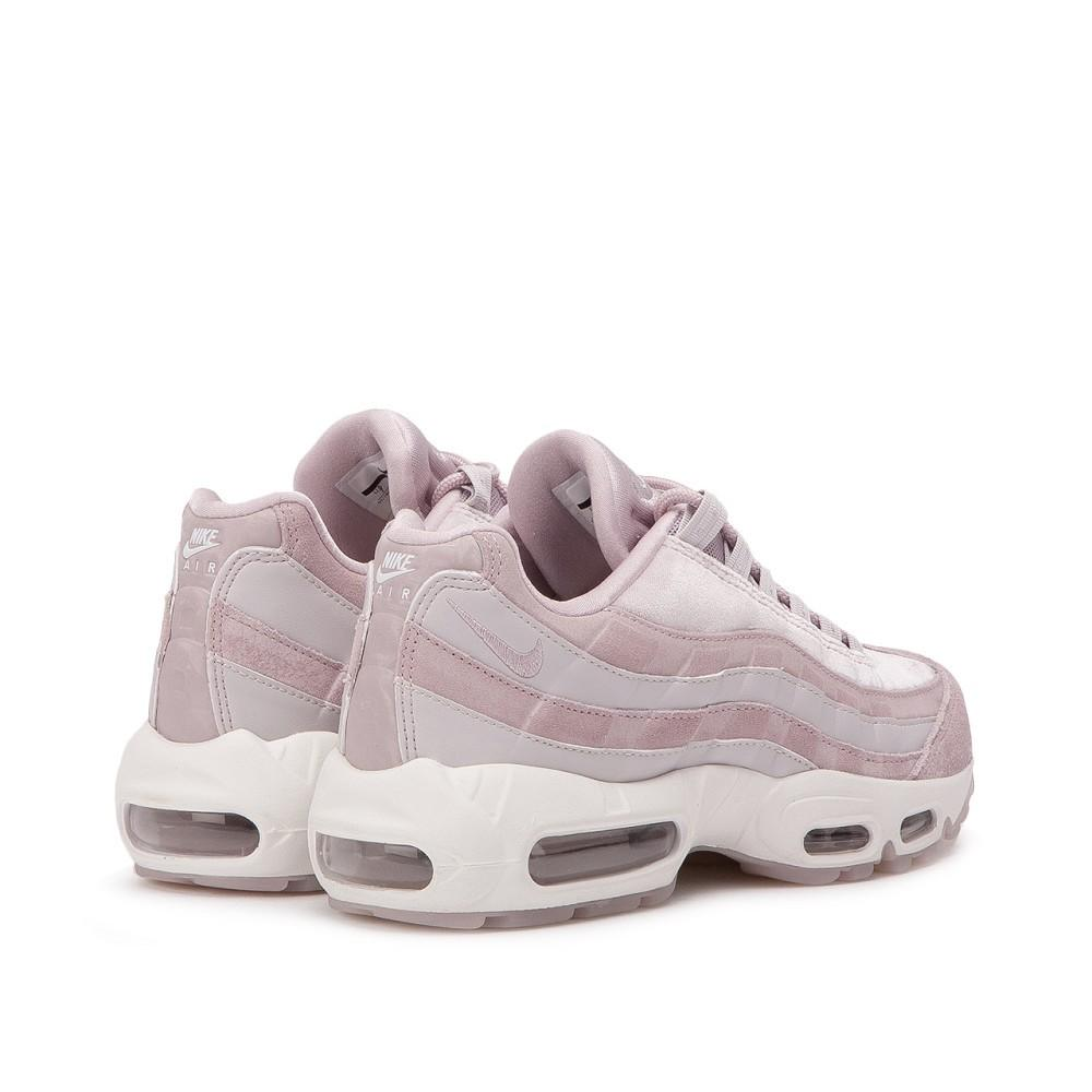 cheap for discount f2934 1787c Nike Air Max 95 LX ROSE / GREY Women's Shoes