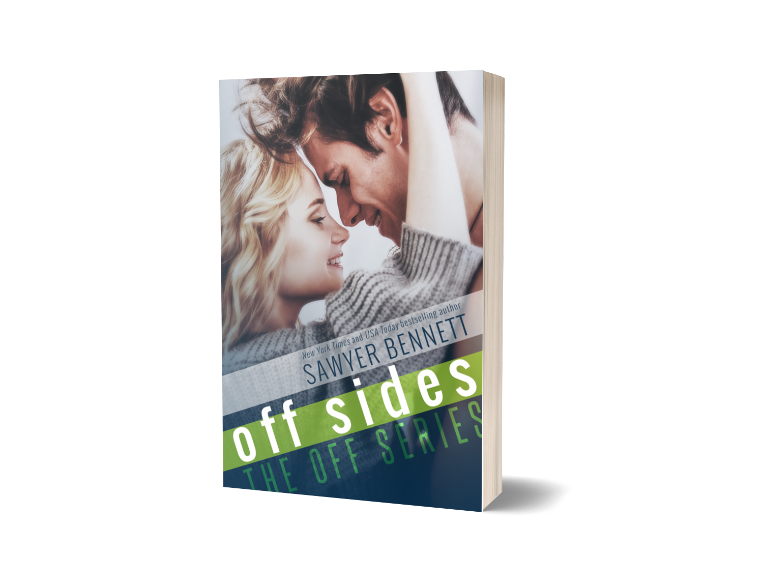 Off Sides - Signed paperback
