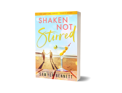 Shaken Not Stirred - Signed Paperback