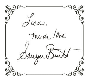 Signed Bookplate - Border