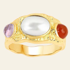 Amethyst Colored Ring