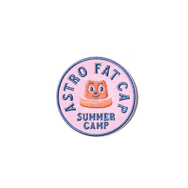 Astro Fat Summer Camp Patch
