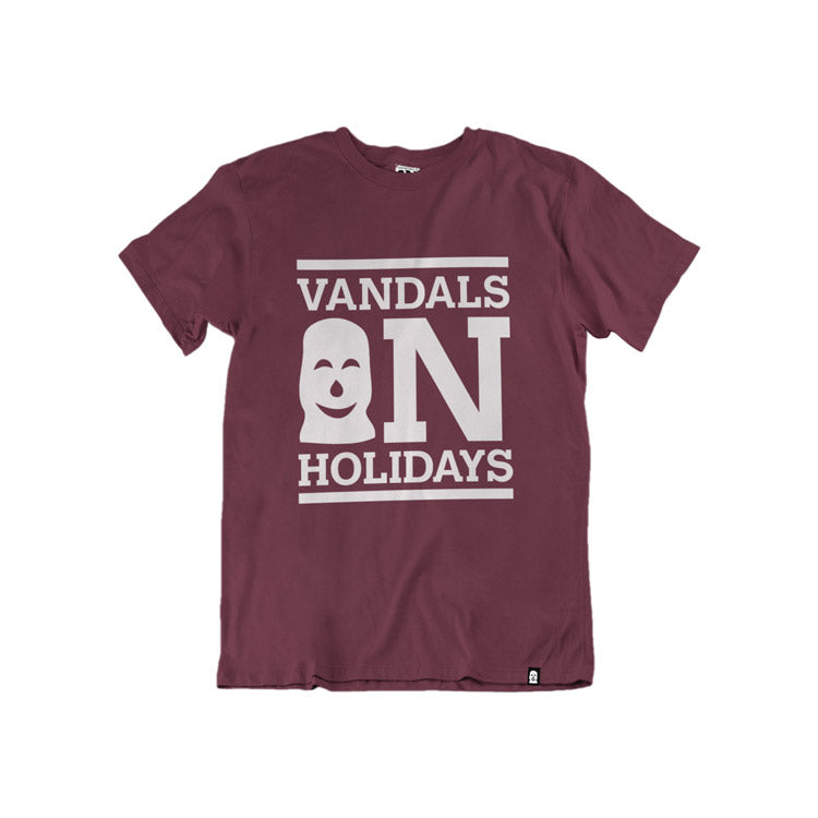 Vandals on Holidays Burgundy