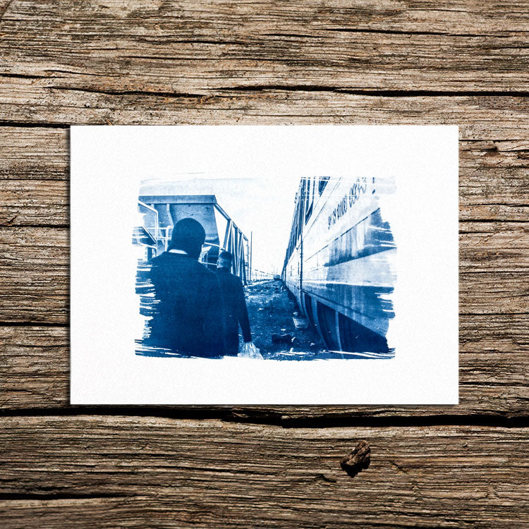 The good, the bad and the ugly Cyanotype