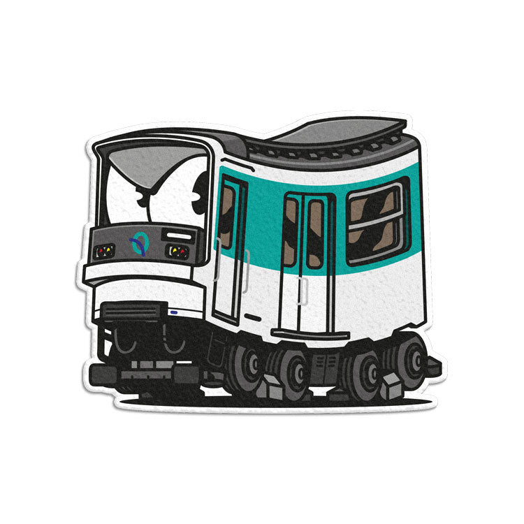 Paris Metro MP73 Sticker