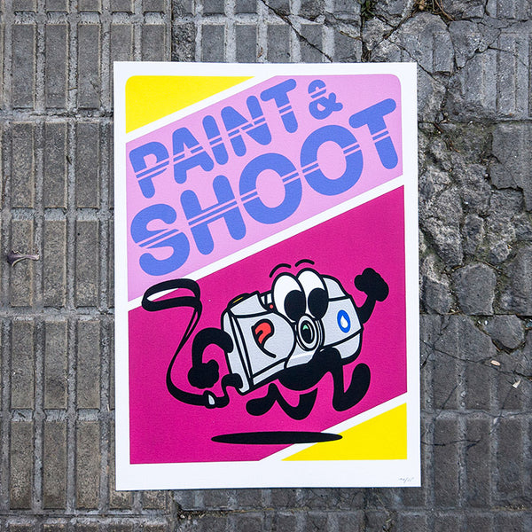 Paint and shoot