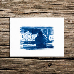 Saturday Morning Cyanotype
