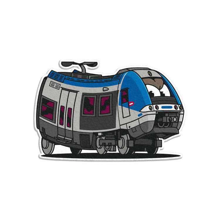 TER Bombardier Sticker