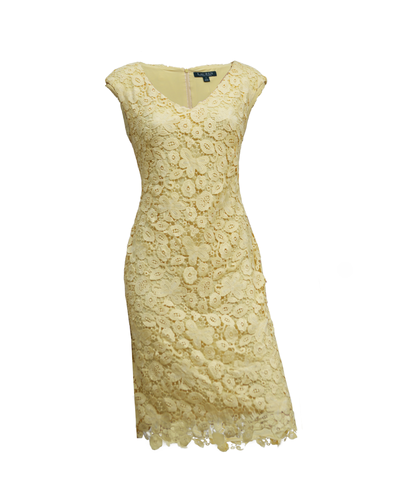 Ralph Lauren Floral Lace Dress