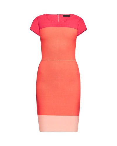 BCBG Jacquetta Colorblocked Dress