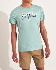Hollister Logo Graphic Tee