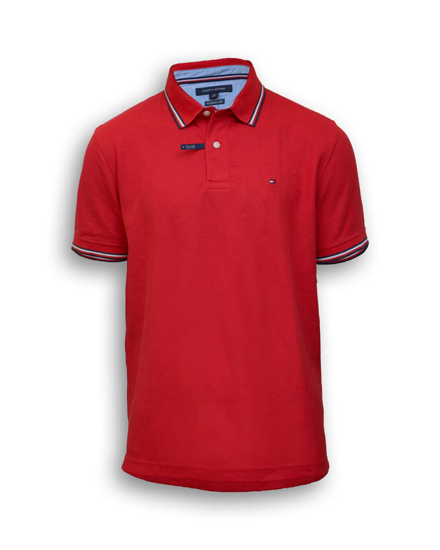 Tommy Hilfiger Oxford Tipped Pique Polo