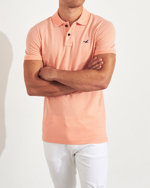 Hollister Stretch Muscle Fit Polo