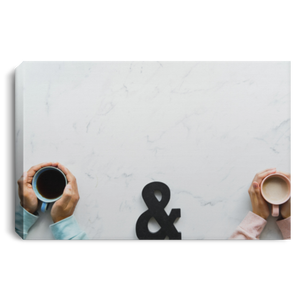 His and Her Love Coffee Canvas (2019) - W.I.S.E. Family Coffee