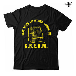 CREAM Cash Rules Everything Around Me Register Unisex T-shirt