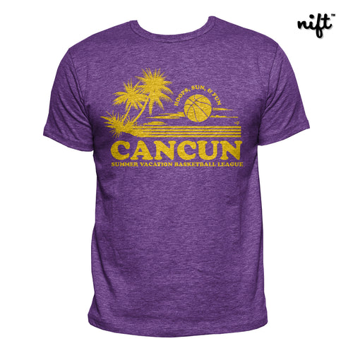 Cancun Summer Vacation Basketball League T-shirt