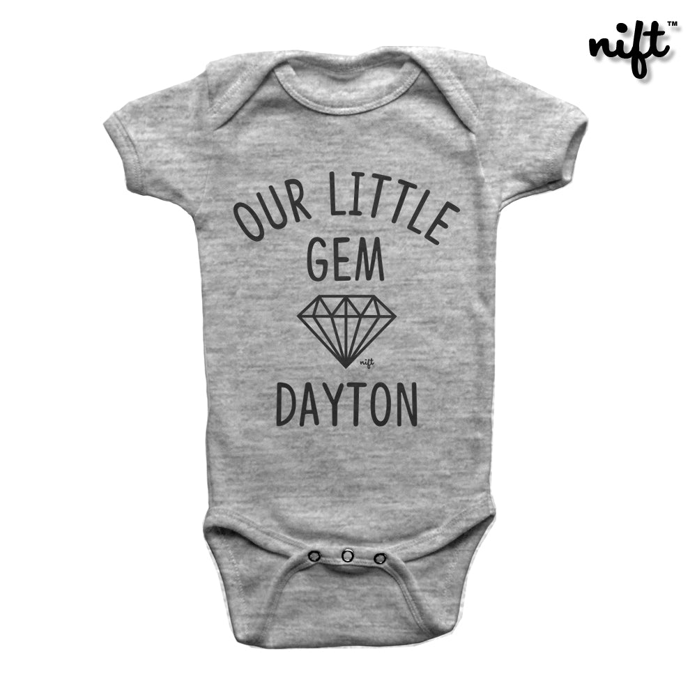 Our Little Gem Dayton Ohio Onesie
