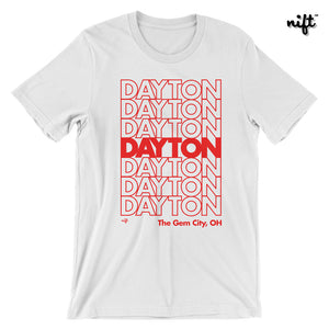 "Dayton the Gem City Ohio ""Thank You"" T-shirt"