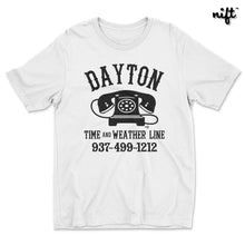 Dayton Time and Weather Line T-shirt