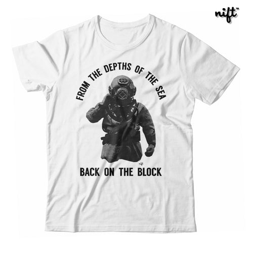 From the Depths of the Sea Back to the Block Unisex T-shirt