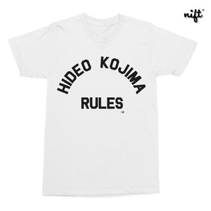 Hideo Kojima Rules T-shirt