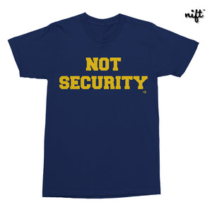 Not Security