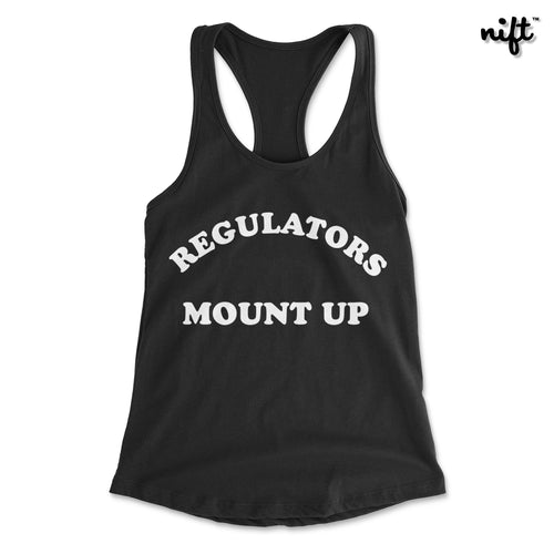 Regulators Mount Up Women's Racerback Tank