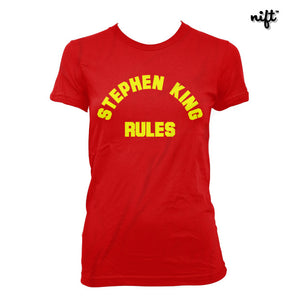 Stephen King Rules Women's T-shirt