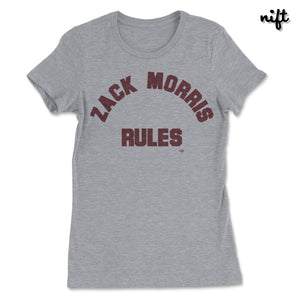 Zack Morris Rules Women's T-shirt