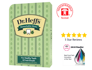 Dr. Heff's Remarkable Mints (Box is 90 Mints, 30 Individual 3 Mint Packets)