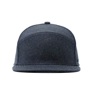 Advocate Wool Snapback Hat-Heather Blue
