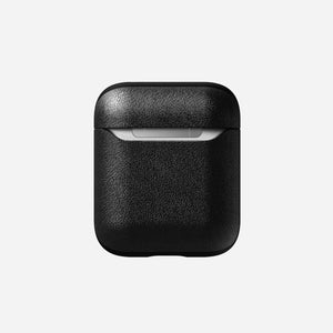 AirPods Rugged Case - Black Leather