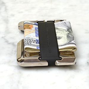 D02 Dapper Wallet-Jet Black