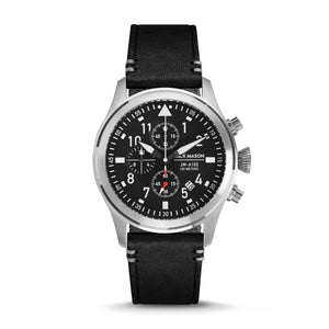 Black Aviator Chronograph 42mm