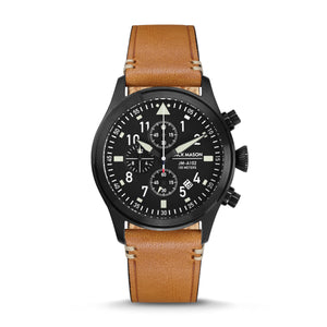 Brown Aviator Chronograph 42mm