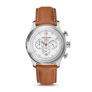 Brown Nautical Chronograph 42mm