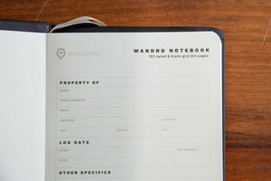 WANDRD Notebook-Black