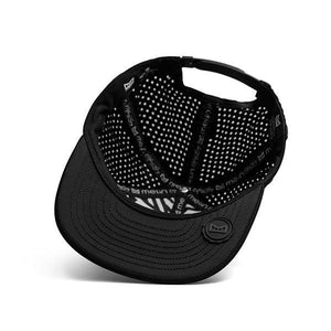 Amphibian Waterproof Performance Snapback Hat-Black