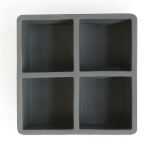 "2.5"" Square Ice Cube Tray"