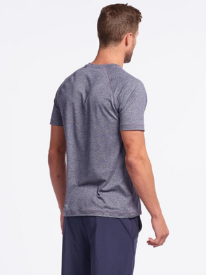 Reign Short Sleeve-Midnight Heather