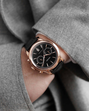 The Bellwether - Black/Rose Gold
