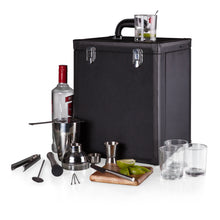 Load image into Gallery viewer, HAMILTON PORTABLE COCKTAIL BAR, (BLACK)