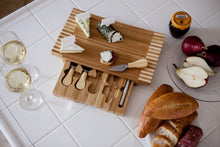 Load image into Gallery viewer, CONCAVO CHEESE CUTTING BOARD & TOOLS SET, (BAMBOO)