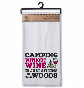 Camping Flour Sack Kitchen Towel