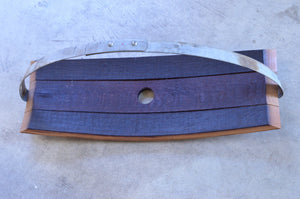 Large Reclaimed Wine Barrel Cheese Board
