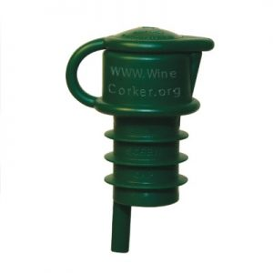 Haley's Corker® Bottle Green-Screwcap