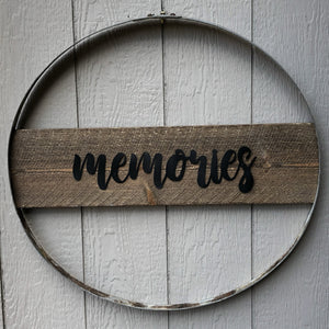 Memories Wall Hoop